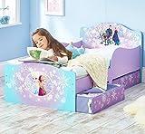 La Reine des Neiges - Lit pour enfants avec espace de rangement sous le lit