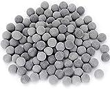 Dreamdealsg - Bolas minerales de turmalina (10 mm) para Acuario de camarones de Agua Dulce, camarones cerezos, cangrejos y bettas, Mejora el moldeo, Mejora los Colores, Calidad del Agua y vitalidad