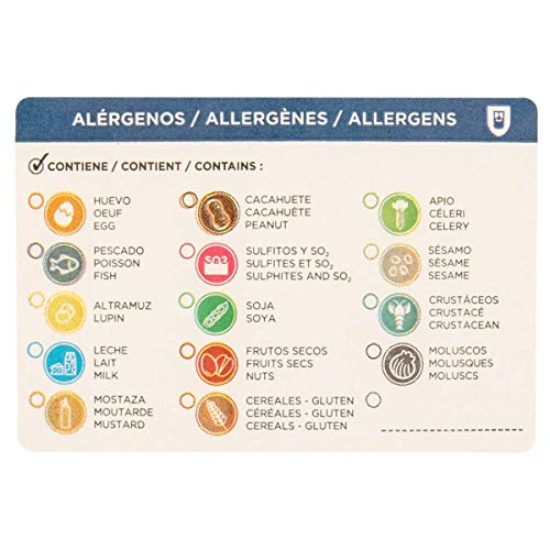 García de Pou 224.16 Allergie-etiketten, op rol, 7,5 x 5 cm, papier (500 stuks)