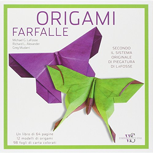 Origami. Farfalle
