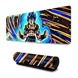 Anime Dragon Ball Z Super DBZ Large Gaming Mouse Pad Extended Mousepad XL Keyboard Mat 11.8in X 31.5in