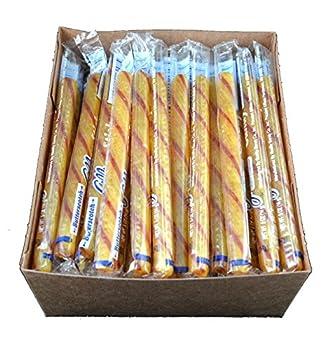 Old Fashioned Butterscotch Candy Sticks - 80 / Box