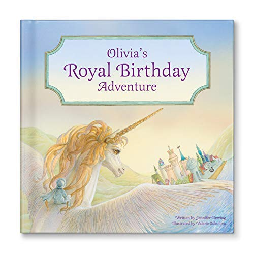 1. 'My Royal Birthday Adventure' Personalized Birthday Gift