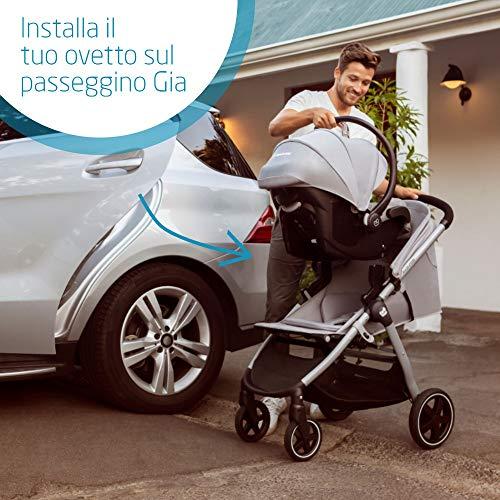 Maxi-Cosi Gia Adattatori Ovetto per Passeggino Maxi-Cosi Gia, Adattatori per Gruppo 0+ Pebble Plus e CabrioFix