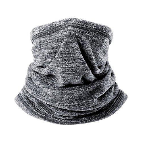 Fleece Neck Warmer For Cold Weather Men Women Ski Neck Gaiter Cover Keep Warm Face Mask