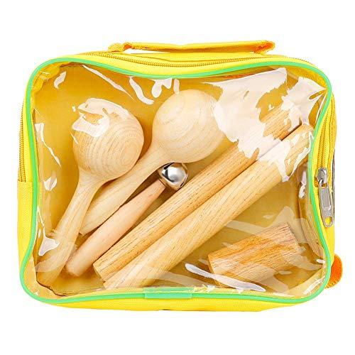 Maidi Instrumento Musical de percusión Conjunto de los Instrumentos Musicales del bebé del niño de los Juguetes y el Desarrollo temprano Actividad Juguetes para los niños de los niños