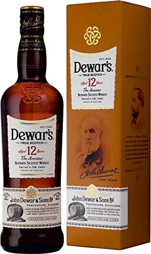 Dewar´s 12 Jahre Blended Scotch Whisky 40% 0,7l Flasche