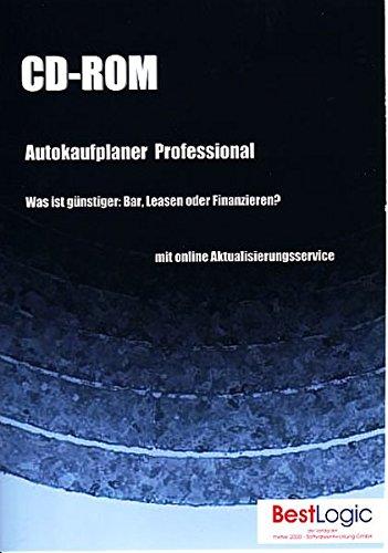 Autokaufplaner Professional, 1 CD-ROM Was ist günstiger: Bar, Leasen oder Finanzieren? Für Windows 98/NT/XP/2000/2003
