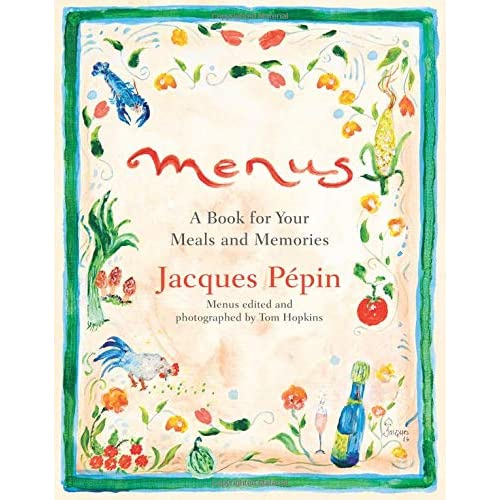 5865b2ce33 Menus  A Book for Your Meals and Memories Hardcover – September 4