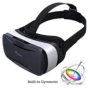 PANNOVO 3D VR Headset Glasses with 9 axles Gyrometer Sensor Virtual