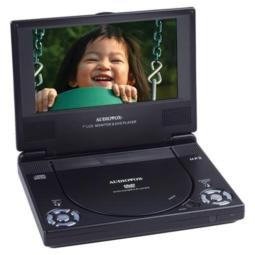 Best Deals! Audiovox D1788 7-Inch Slim Line Portable DVD Player