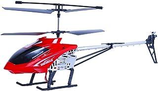 طائرة هليكوبتر بجودة عالية 2.4 جي 3.5 قناة مصنوعة من خليط معدني كبيرة مضادة للسقوط تعمل بالتحكم عن بعد تعمل بالراديو مزودة...