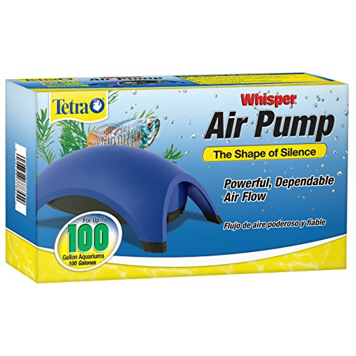 Tetra Whisper Air Pump - 100 gallon, Blue (77855)