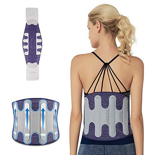 ZWMM Schulter RüCken Spine Schutz Ergonomischer Adjustable zur Reduzierung der Taille Druck Unisex