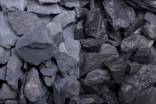 GSH Canadian Slate schwarz 30-60 mm BigBag Abfüllmenge 1000 kg