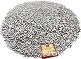EUROSTYLE Tappeto Bagno RICCIOLO Diametro 70CM 100% Cotone Made...