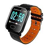 YDL A6 Smart Band Fitness Tracker Smart Watch Sport Pulsera Inteligente Pulsera Cardíaca Presión Arterial Monitor De Banda Inteligente Motor De Salud (Color : 03)