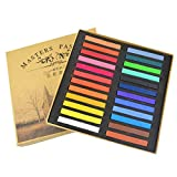 SunshineFace Stick di Gesso Pastello Quadrato Gesso 48 Set di Colori Assortiti