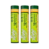 Murphy's Naturals Mosquito Repellent Incense Sticks   DEET Free with Plant Based Essential Oils   2.5 Hour Protection   12 Sticks per Tube   3 Pack