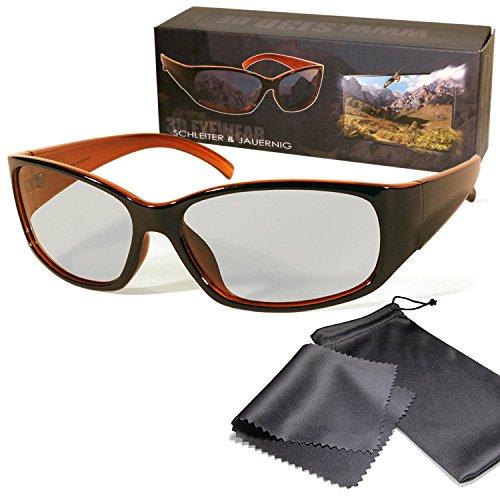 Gafas 3D pasivo para RealD - Negro / Naranja - Alta calidad...