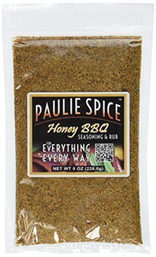 Paulie Spice : Sweet Honey BBQ Gourmet Seasoning and Rub For: Meat, Ribs, Rib, Chicken, Pork, Steak, Wings, Turkey, Prime Rib, Fish, Seafood, Grill, Grilling, Barbecue, Smoker, Dry, Rubs, Seasonings