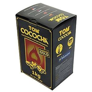 Tom Cococha 4168amarello Carbón Natural, 1kg