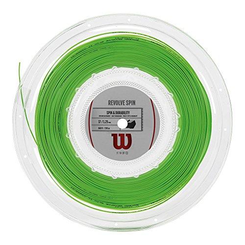 WILSON Revolve Spin 17Reel Bobina Corda da Tennis, Unisex Adulto, Unisex Adulto, Revolve Spin 17...