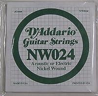 【5セット】D'Addario/ダダリオ NW024 Nickel Round Wound バラ弦
