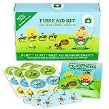 Material de Relleno para botiquín Primeros Auxilios para niños, 52 artículos, de Yellodoor
