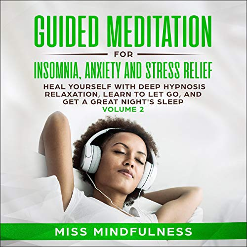 Guided Meditation for Insomnia, Anxiety and Stress Relief Titelbild