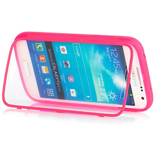 Samsung Galaxy S4 MINI | iCues táctil TPU Rosa | Caso duro...
