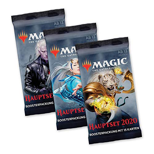 Magic The Gathering - Hauptset M20 - 3X Booster Packung - deutsch