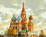 Diy Pintura Al Óleo Digital Castillo De Parque De Atracciones De Disney Digital Pintura Al Óleo Regalo Para Adultos Niños Pintura Por Numero Kits Decoración Del Hogar 40 * 50