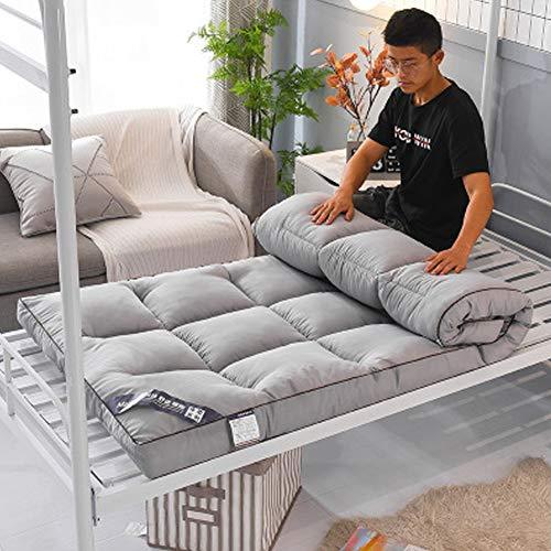 JI TA Matratze Folding Futon Verdicken sie Stereoscopic Tatami Bodenmatratze Single Double Futonbetten Dick Japaner Bett roll Weich Schlafen pad Für Home Schule Kabine 2 / A / 120x2