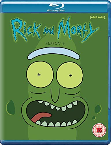 Rick & Morty Season 3 [Reino Unido] [Blu-ray]