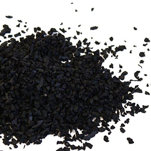 FTM Gummigranulat, Schwarz, 5kg, Made In Germany, Geruchsneutral für Boxsack Füllung