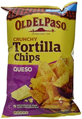 Old el Paso Tortilla Chips Queso, 10er Pack (10 x 185 g)