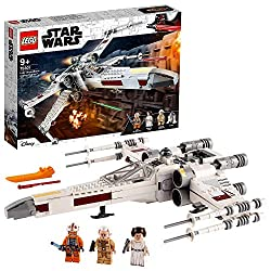 Features a LEGO brick-built version of Luke Skywalkers iconic toy X-wing Fighter to recreate scenes from the classic Star Wars trilogy The X-wing features an opening LEGO minifigure cockpit, space for R2-D2 and wings that can be switched to attack po...