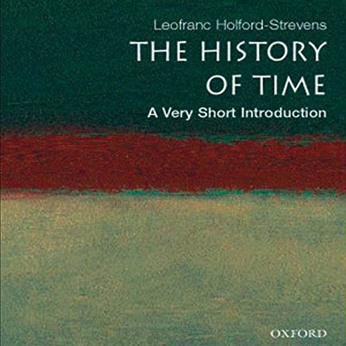 The History of Time audiobook cover art