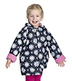 Hatley Girls' Little Printed Raincoats, Lovely Daisies, 2 Years