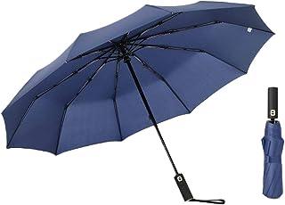 Generic Travel Umbrella, 10 Ribs Windproof Travel Umbrella Automatic Folding Umbrellas