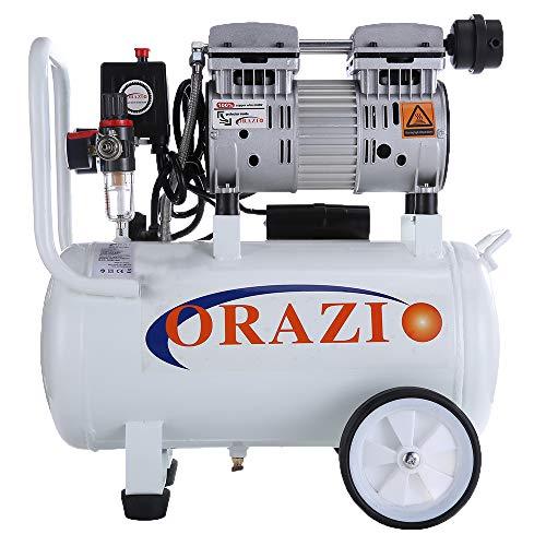 241184E Wenig Lärm Geräuschloser Luftkompressor 65DB 230V 800W 24L für die Garage Clinic