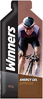 Winners Sports Nutrition Espresso Energy Gels, Pack of 24 (6 boxes x 4 gels)