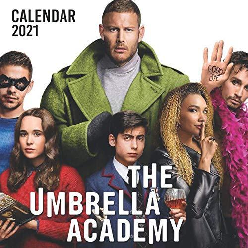 The Umbrella Academy: 2021 Wall Calendar - Large 8.5' x 17' When Open - 12 Months