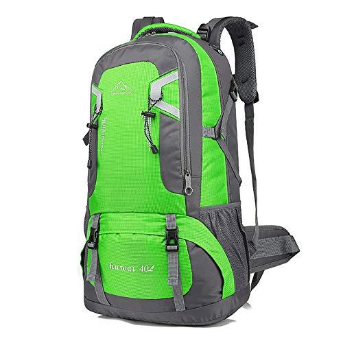 登山バッグ 登山用リュック 40L ~60L 5色選び バックパック リュックサック 大容量 リュック 登山 旅行 防災 遠足 軽量 撥水 アウトドア 男女兼用 レディース メンズ ザック (グリーン40L)