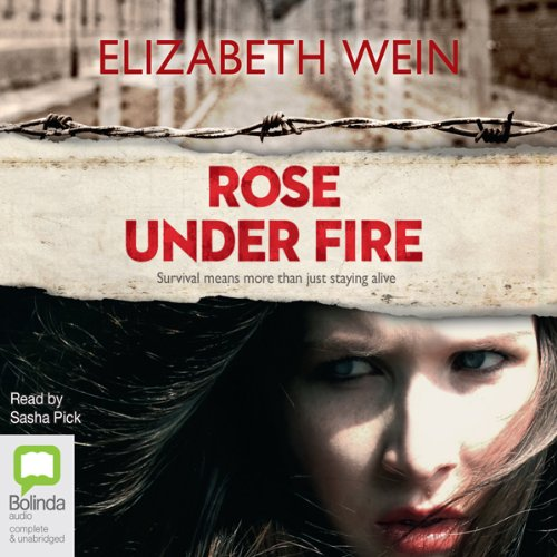 Rose Under Fire audiobook cover art