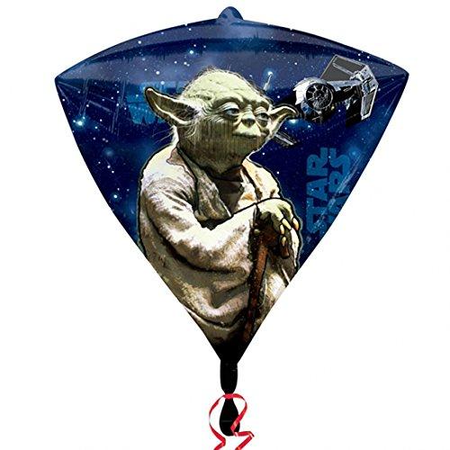 Zeldzame Star Wars Diamondz 4 zijdig ontwerp folie ballon 15
