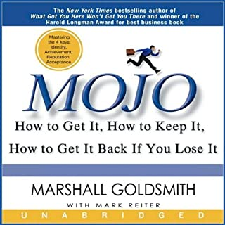 Mojo audiobook cover art