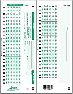 Apperson 20260 882-E Compatible Answer Sheet 500-pack