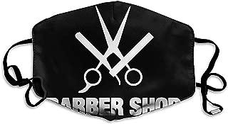 Mascarillas Unisex Cool Barber Shop Antipolvo Antipolución Poliéster Motocicleta Mascarilla Reutilizable